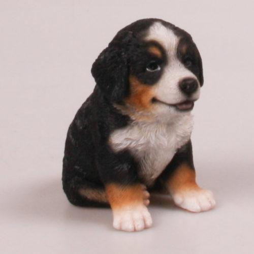 Sint Bernard hond beeldje van polystone