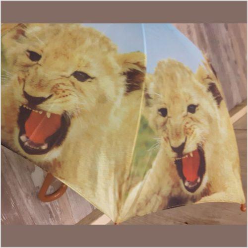 Kinder paraplu leeuwen welpjes van Esschert design
