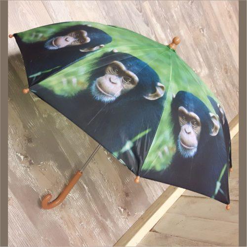 Kinderparaplu aap Chimpansee van Esschert design 2
