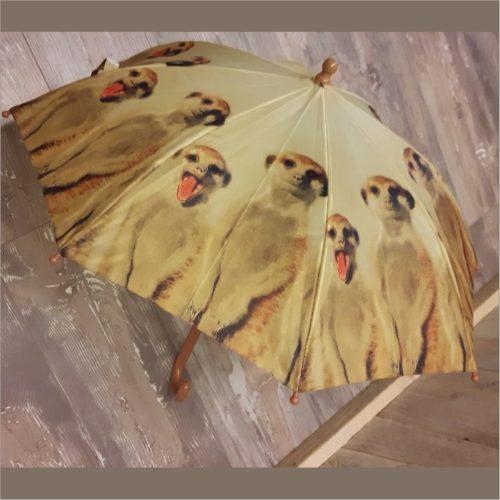 Kinderparaplu stokstaartjes van Esschert design