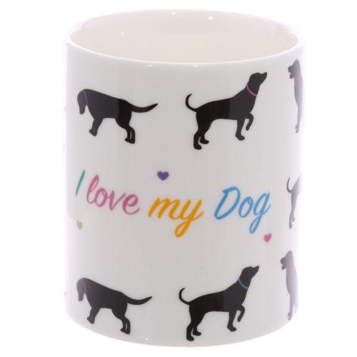 Mok voor honden liefhebbers I love my dog