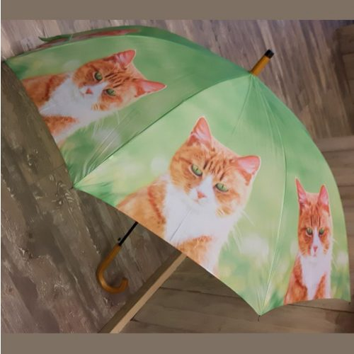 Paraplu rode kat van Esschert design