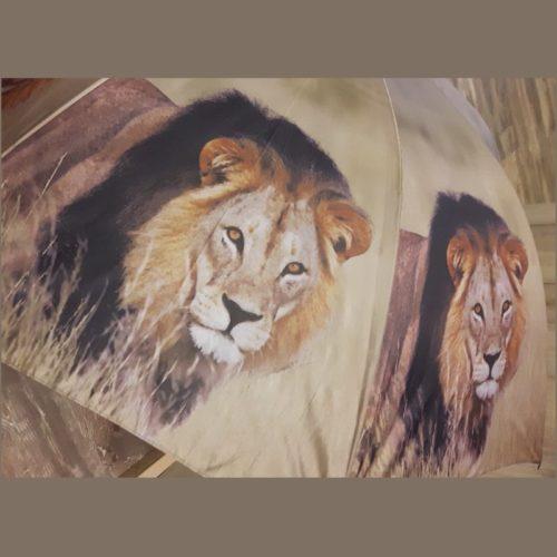 Paraplu safari Afrikaanse leeuw van Esschert design