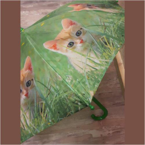 Kinder paraplu kitten van Esschert design