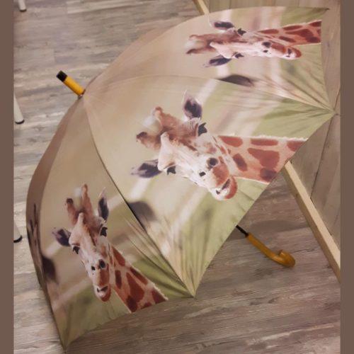 Paraplu giraffe van Esschert design
