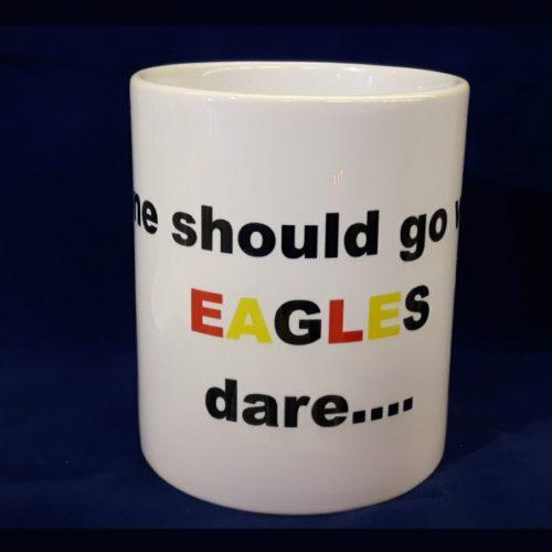 Voetbalmok Deventer kowet No one should go where Eagles dare