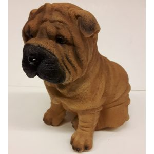 Beeldje Shar Pei puppy van Farmwood 16 cm