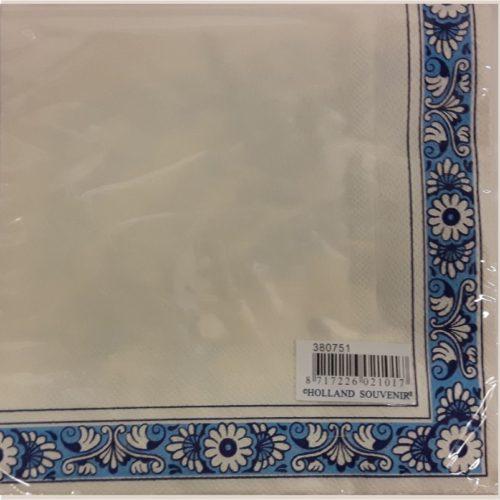Servetten Holland Delfts blauw