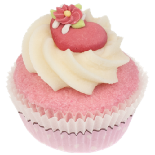 Badefee bad cupcake Sweet Heart