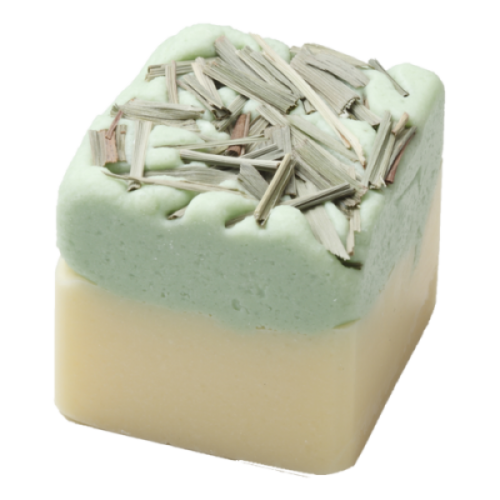 Badefee bath cube lemon grass