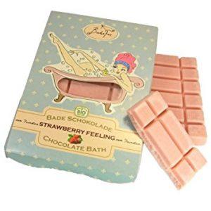 Badefee chocoladereep voor in bad
