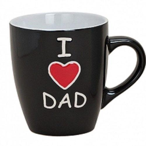Beker voor vader I love dad