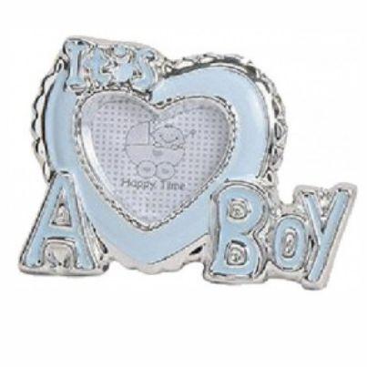 Kraamcadeau fotolijstje hart Its a boy