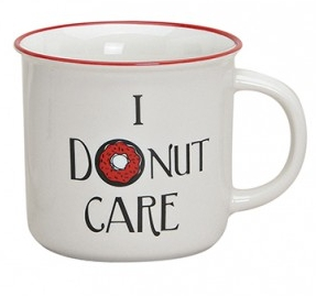 Mok emaille-style I donut care