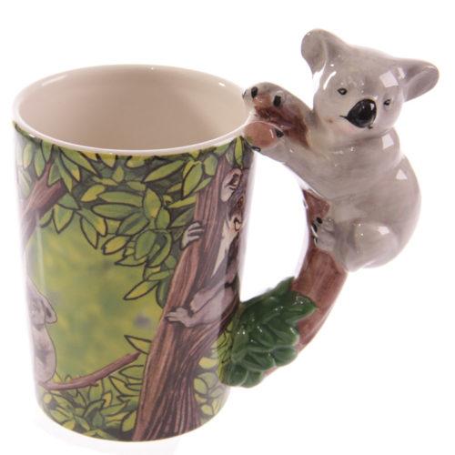 Mok keramiek 3D handvat koala beer