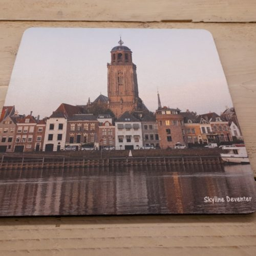 Muismat Deventer skyline