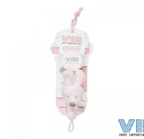 Speenkoord konijn roze VIB Very Important Baby