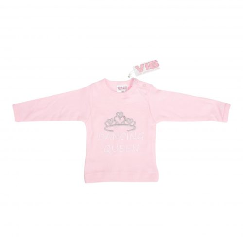 T-shirt baby Dancing Queen roze