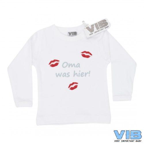 T-shirt baby VIB Oma was hier