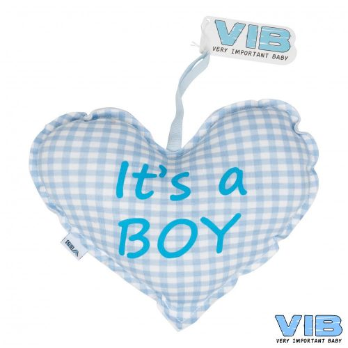VIB baby kraamcadeau kussentje It's a boy