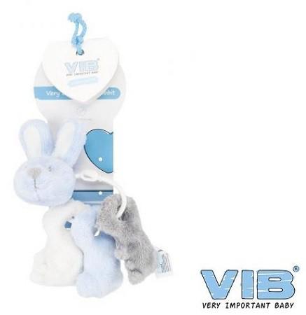 VIB baby sleutelbos blauw