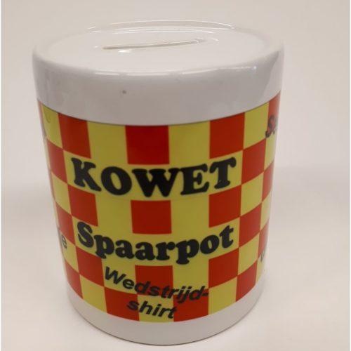 Spaarpot keramiek sparen voor Kowet