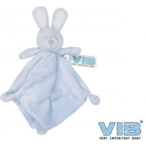 Knuffeldoekje Pluche Konijn blauw van Very Important Baby