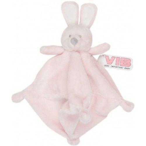 Knuffeldoekje Pluche Konijn roze van Very Important Baby