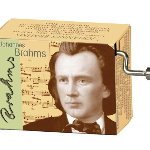 Muziekdoosje componisten Brahms melodie Lullaby