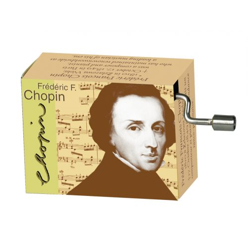Muziekdoosje componisten Chopin melodie Grande Valse Brillante