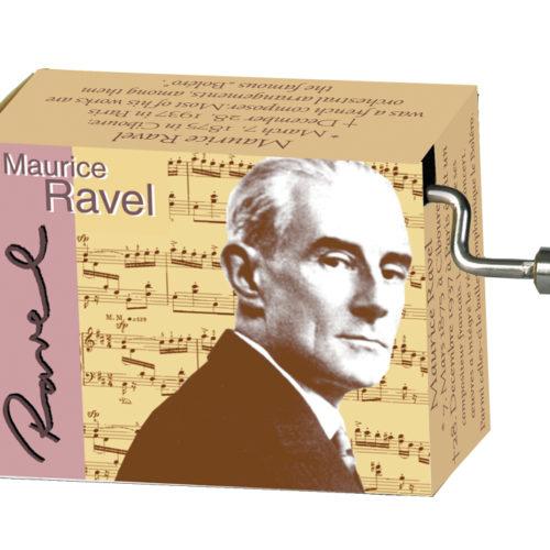 Muziekdoosje componisten Ravel melodie Bolero