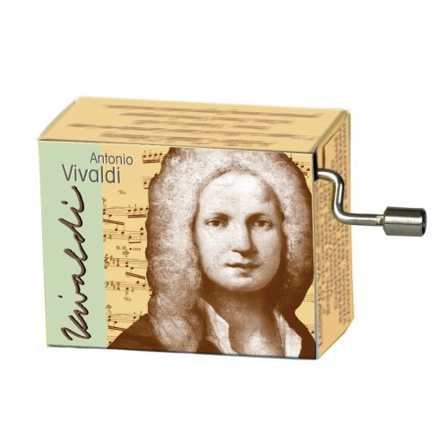 Muziekdoosje componisten Vivaldi melodie Spring
