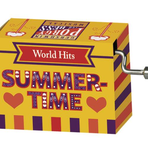 Muziekdoosje wereldhits melodie Summer Time