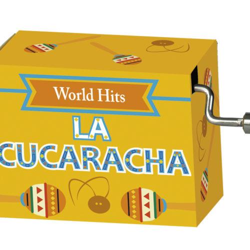 Muziekdoosje wereldhits met melodie van La cucaracha