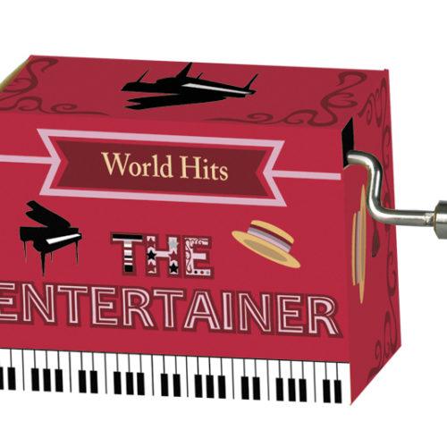 Muziekdoosje wereldhits met melodie van The Entertainer