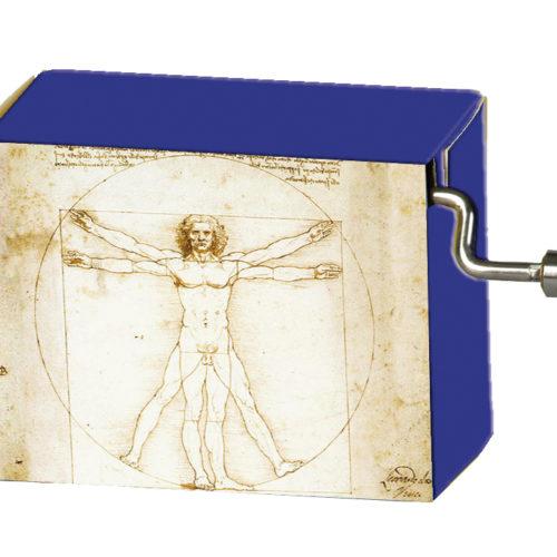 Muziekdoosje kunstenaars Leonardo Da Vinci Divine Proportion melodie Für Elise