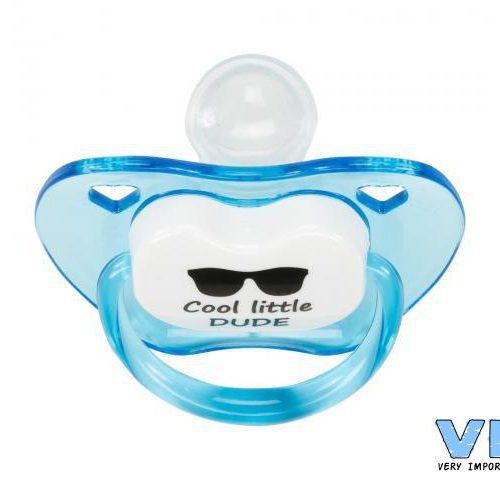 VIB Fopspeen blauw Cool little dude