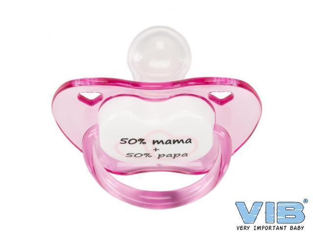 VIB Fopspeen roze 50 procent papa mama