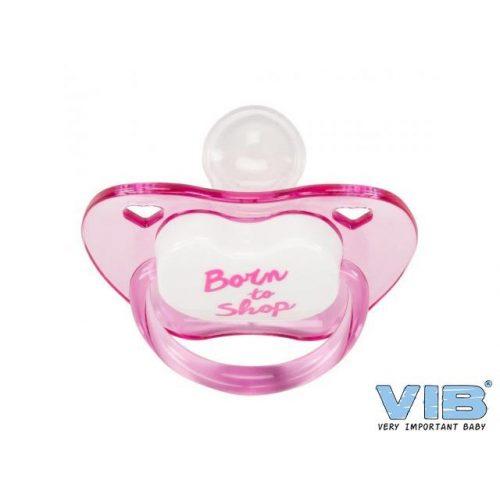 VIB Fopspeen roze Born to shop