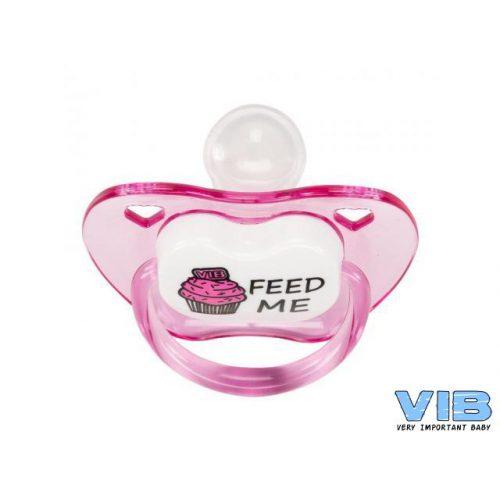VIB Fopspeen roze Feed me