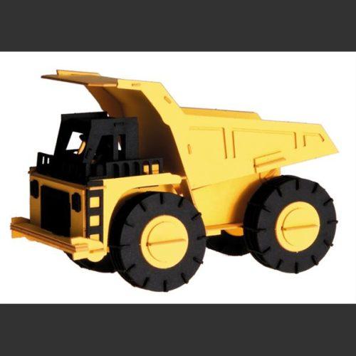 3D bouwpakket karton kiepwagen