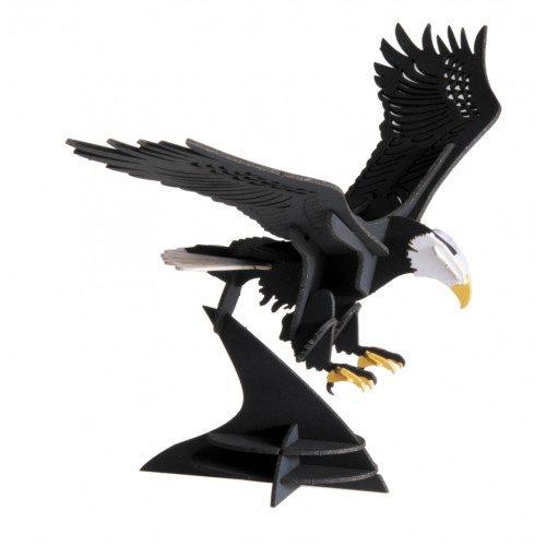 3D puzzel en bouwpakket karton model Adelaar