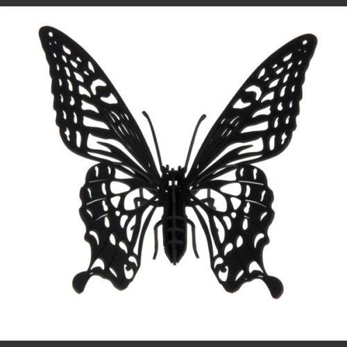 3D puzzel en bouwpakket karton model vlinder