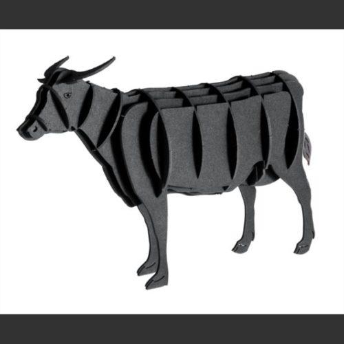 3D puzzel en bouwpakket karton model koe