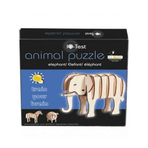 3D puzzel olifant van bamboe