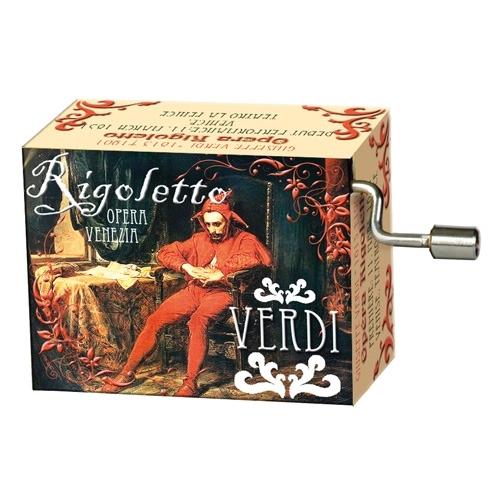 Muziekdoosje opera Rigoletto La Donna e mobile