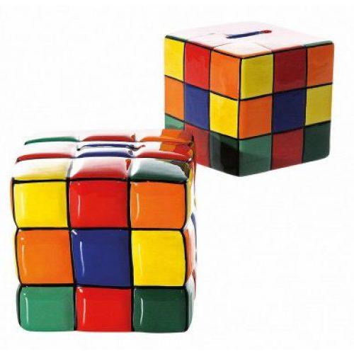 Spaarpot Rubiks cube en kubus