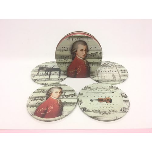 Set onderzetters Mozart