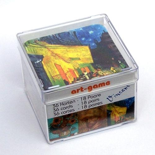 Memo spel Van Gogh met 36 kaarten
