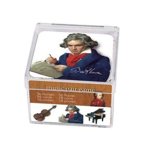 Memo spel klassieke muziek met 36 kaarten